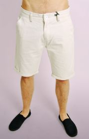 Stone Turn Up Chino Shorts